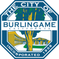 Seal of Burlingame, California.png