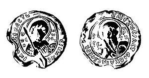 Constantine Bodin - Seal of Constantine Bodin.