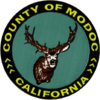Official logo of Modoc County, California