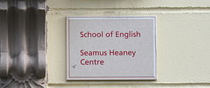 English: Seamus Heaney Centre, Queen's Univers...