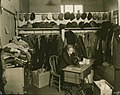 Seattle - Mrs C.S. Sapp in clothing department of Northeast Relief Depot, 1931 (51174013860).jpg