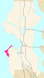 Alki Beach Seattle Map.Alki Point Seattle Wikipedia