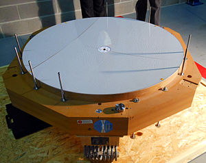 Adaptive optics - Image: Second adaptive thin shell mirror delivered to ESO