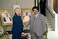 Secretary Clinton Shakes Hands With Kuwaiti Prime Minister Nasser al Sabah (6196611408).jpg