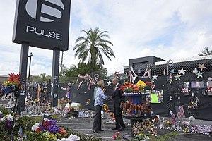 Pulse nightclub - Image: Secretary Johnson pays Respect at Pulse Nightclub (29619443211)