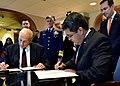 Secretary Kelly Meets with President of Honduras (33609660995).jpg