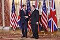 Secretary Pompeo Welcomes UK Foreign Secretary Hunt to Washington (31921825787).jpg