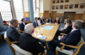 Secretary of State Karen Bradley MP meets with civic leaders in Londonderry (43085206534).png