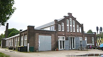 Hollandsche IJzeren Spoorweg-Maatschappij - The former main offices of Seinwezen, the division in charge of signage for the railways, was located in Haarlem.
