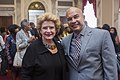 Senator Stabenow greets with constituents at the Congressional Black Caucus breakfast. (29760897236).jpg