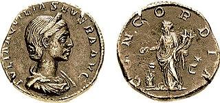 Concordia (mythology) goddess in ancient Roman religion