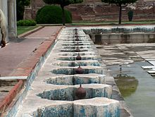 Shalamar Garden July 14 2005-Turned off fountains.jpg