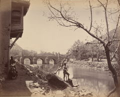 Shamsher Bridge and Masjid, Kabul WDL11483.png