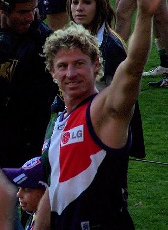 Shaun McManus - McManus in August 2008