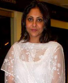 Shefali Shah at Rahul Bose's sports auction event