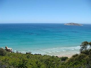 Shellback Island island in Victoria, Australia