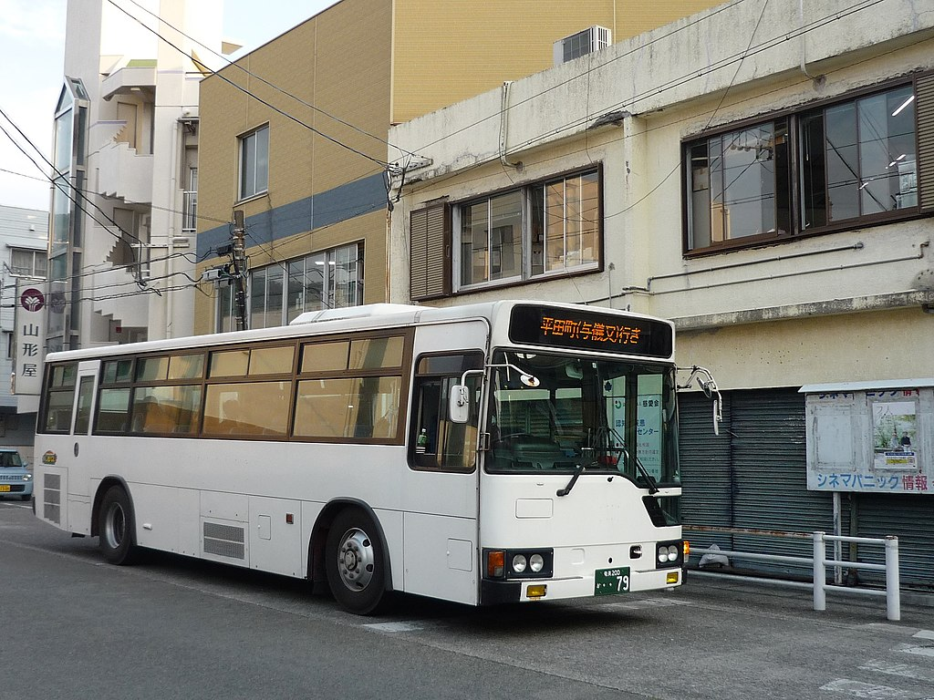 Shima Bus at Naze 20180428