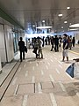 Shinkoiwa Station north-south corridor.jpg