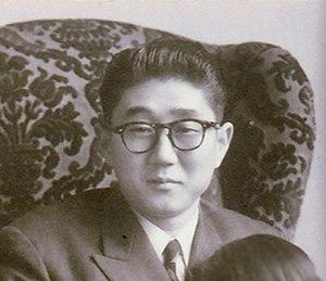 Shintaro Abe - Image: Shintarō Abe cropped