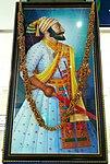 Shivaji Portrait at CSM International Airport.jpg