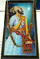 Shivaji Portrait at CSM International Airport.jpg