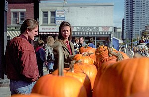 Shopping for pumpkins at Thanksgiving in Ottaw...
