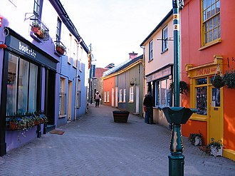 Kinsale - Kinsale is known for its historic streetscape and brightly coloured shops.