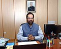 Shri Mukhtar Abbas Naqvi taking charge as the Minister of State for Minority Affairs, in New Delhi on November 11, 2014.jpg