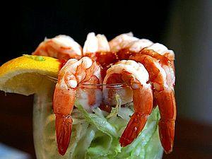 Seafood cocktail - A shrimp cocktail