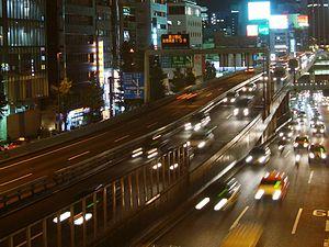 Urban Expressways (Japan) - Shuto Expressway in Tokyo