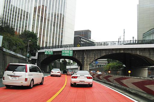 Shuto expressway ginza