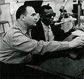 Sid Feller with Ray Charles - ca 1962.jpg