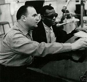 Modern Sounds in Country and Western Music - Ray Charles (right) and Sid Feller (left) pictured in 1962