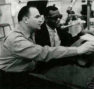 Sid Feller - Image: Sid Feller with Ray Charles ca 1962