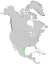 Sideroxylon celastrinum range map 0.png