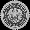 Siegelmarke Der K. Landrath des Kreises Moers W0390851.jpg