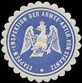 Siegelmarke Etappen-Inspektion der Armee-Abteilung von Strantz W0370727.jpg