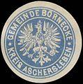 Siegelmarke Gemeinde Börnecke Kreis Aschersleben W0383110.jpg
