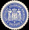 Siegelmarke Königliche Eisenbahn - Direktion - Stettin W0212706.jpg