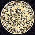 Siegelmarke Landarmenbehörde für den Neckarkreis - Ludwigsburg W0227853.jpg