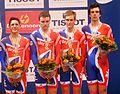 Siegerehrung Vierer Bronze GB 2011.jpg