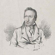 Sigmund Anton Steiner, Lithographie von Josef Eduard Teltscher, um 1825 (Quelle: Wikimedia)