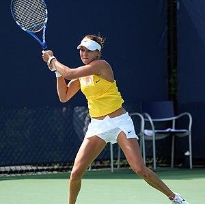 Silvia Njirić - Silvia Njirić at the 2009 junior US Open