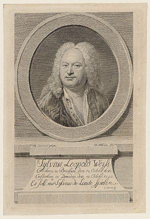 Sylvius Leopold Weiss - Sylvius Leopold Weiss.