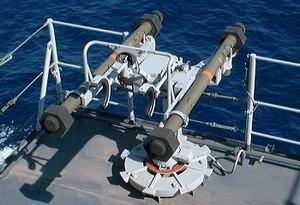 Mistral (missile) - Image: Simbad missile
