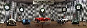 Simeone Foundation Automotive Museum - The Winners Circle exhibit at the Simeone Foundation Automotive Museum