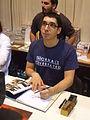 Simon Phélipot à la foire du livre 2010 de Brive la Gaillarde.JPG
