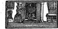 Simple Simon's misfortunes and his wife Margery's cruelty, which began the very next morning after their marriage Fleuron T190535-6.png