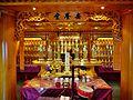 Singapore Buddha Tooth Relic Temple Innen Verstorbenenhalle 2.jpg
