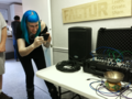 Singing-bowl sound processing with modular synthesizer, and taking a video with smartphone - Orlando Synthesizer Meetup Dec 2016 (2016-12-04 (33) by Mac Rutan).png